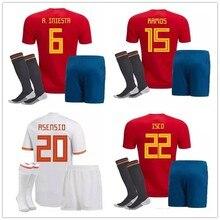 ed522e5d06 España Jersey De Fútbol - Compra lotes baratos de España Jersey De Fútbol  de China