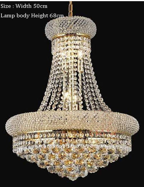 Online shop phube lighting french empire gold crystal chandelier phube lighting french empire gold crystal chandelier chrome chandeliers lighting modern chandeliers lightfree shipping aloadofball Gallery