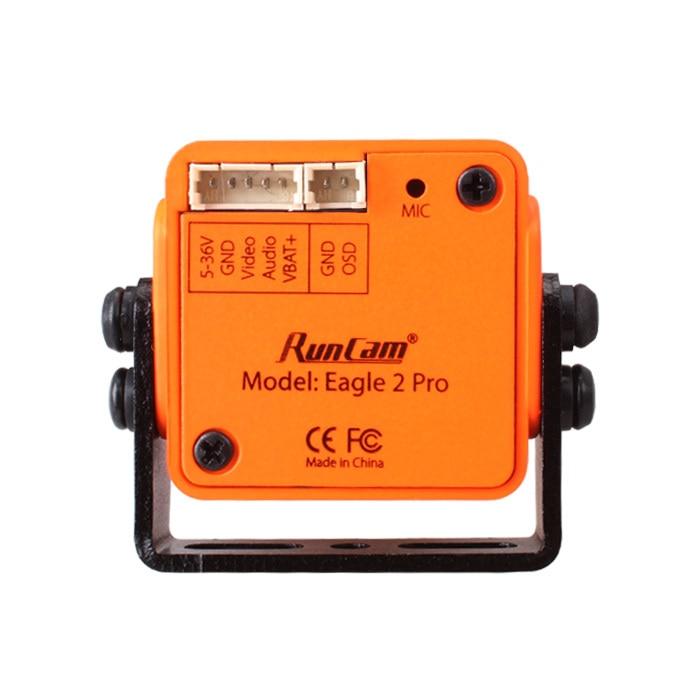 RunCam águila 2 PRO 800TVL CMOS 16:9/4:3 NTSC/PAL/conmutable Super WDR FPV Cámara baja latencia-in Partes y accesorios from Juguetes y pasatiempos    3