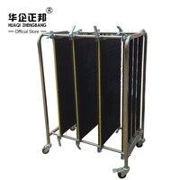 Тележка из нержавеющей стали ESD/ESD Turnover Cart/антистатические печатные платы пластин тележка для хранения ZB 900J