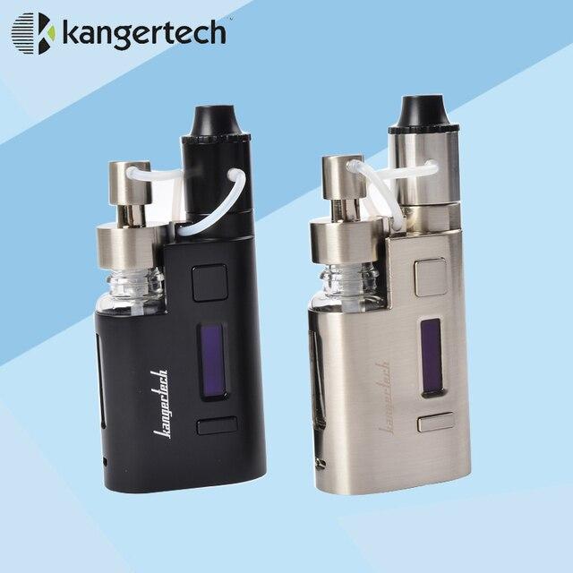 Kangertech Капельного EZ Starter Kit 80 Вт Box Mod Жидкостью Vape испаритель с насос 0.3Ohm Капельного катушки 0.2Ohm Капельного EZ Комплект E Электронная Сигарета