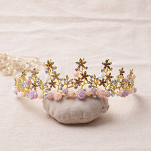 цена на 312 bride jewelry retro Baroque hair headdress QUEEN CROWN wedding dress.
