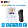 Tmezon 4 inch TFT Color Monitor 1200TVL Camera Video Door Phone Intercom Security Speaker System Waterproof IR Night Vision 1v1