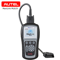 Autel ML619 Auto Diagnosis Tool Car Detector Code Reader Scanner with OBD2 Functions Portable for ABS/SRS Airbag systems