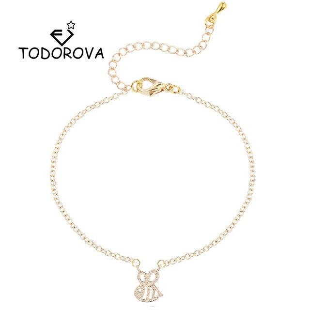 Us 0 8 55 Off Todorova Men Jewelry Insect Honey Bee Bracelet Honeycomb Ble Women Blebee Beehive Wasp Bracelets In Chain Link