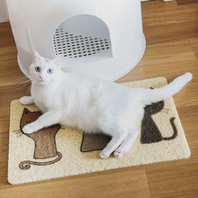 40*60 Pvc Cat Bed Reathable Pet Cushion Claws Sleeping Pad Placemat Cleaning Carpet Puppy Dog Litter Sand Mats