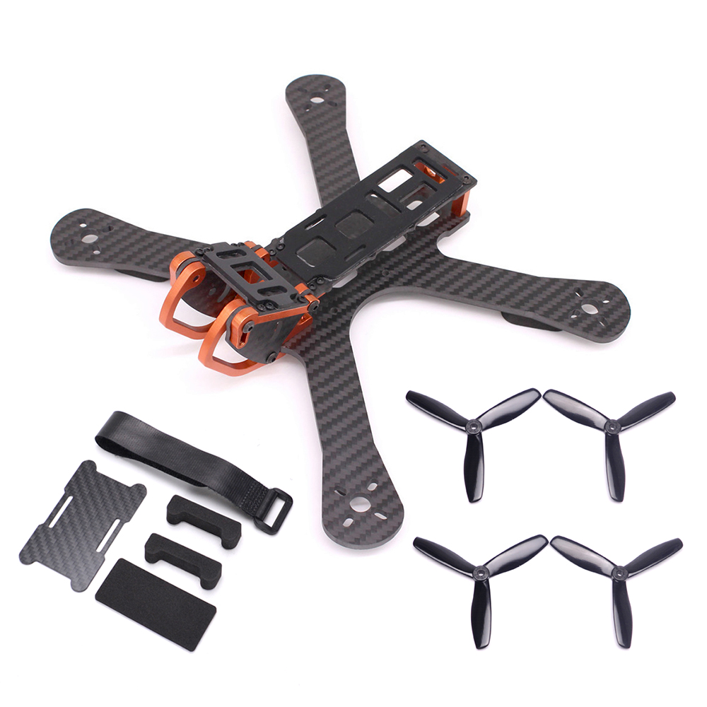 PUDA Chameleon 5 FPV Frame FPV Racing Drone Quadcopter frame with 5045 Propeller Battery Protection Plate