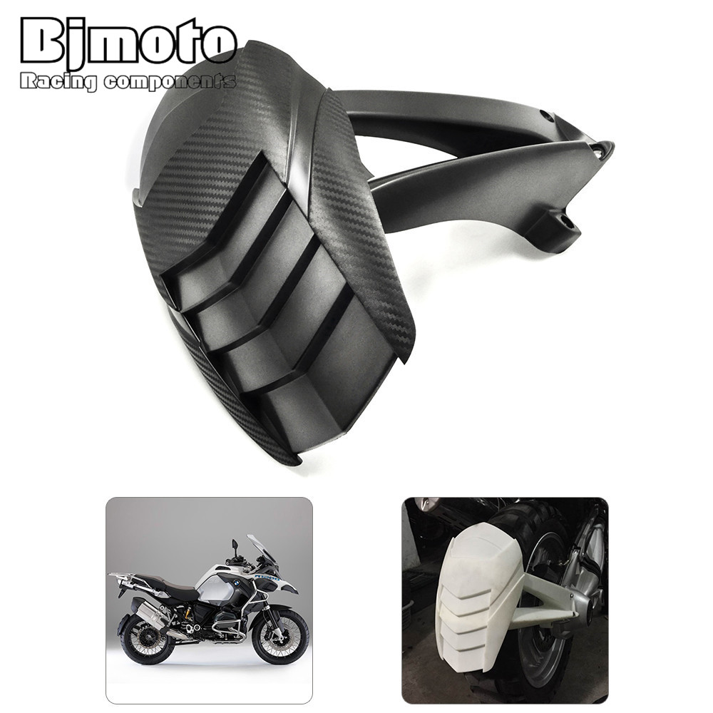 RF-BM001 Black Motorcycle Superior Rear Mudguard Fender Accessory For BMW R1200GS/Adventure 2004-2012 bjmoto motorcycle abs rear fender bracket motorbike mudguard for bmw r1200gs 2004 2012