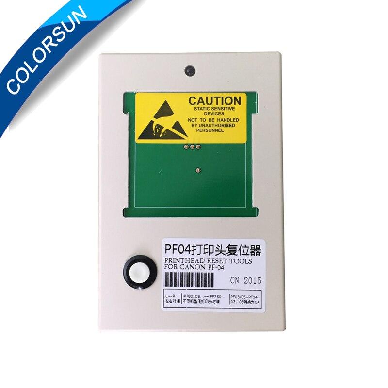PF PF-04 04 Cabeçote resetter para Canon iPF650 iPF655 iPF750 iPF760 iPF765 iPF680 iPF780 Resetter Chip Da Cabeça de Impressão