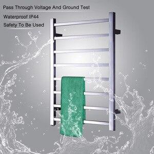 Image 1 - Porte serviettes chauffant électrique