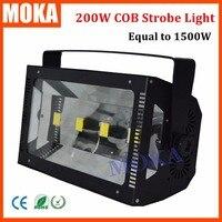 Hot Selling 200W LED COB DMX 512 Strobe Stage Effect Light Atomic Strobe COB Light DMX 1/3/6 Channels Strobe Lighting