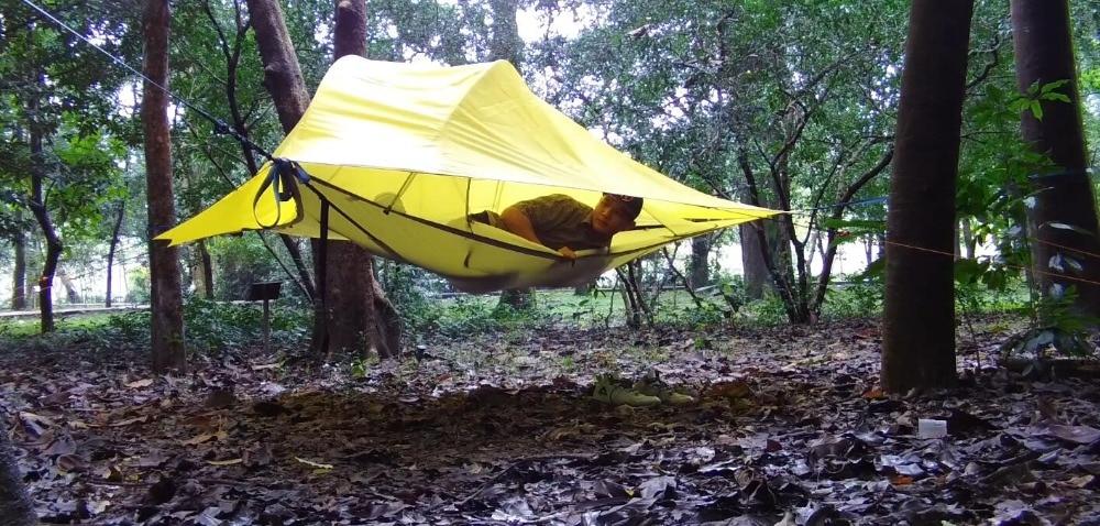 Suspension tent Rainproof tent