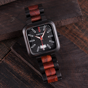 Image 2 - BOBO BIRD Luxury Brand Men Watch Fashion Retro Color Combination Wooden Watches erkek kol saati K R08 Customized and Dropshipp