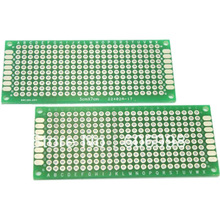 5pcs/lot 3x7cm Double Side Prototype PCB Universal Printed Circuit Board DIY Protoboard For Arduino
