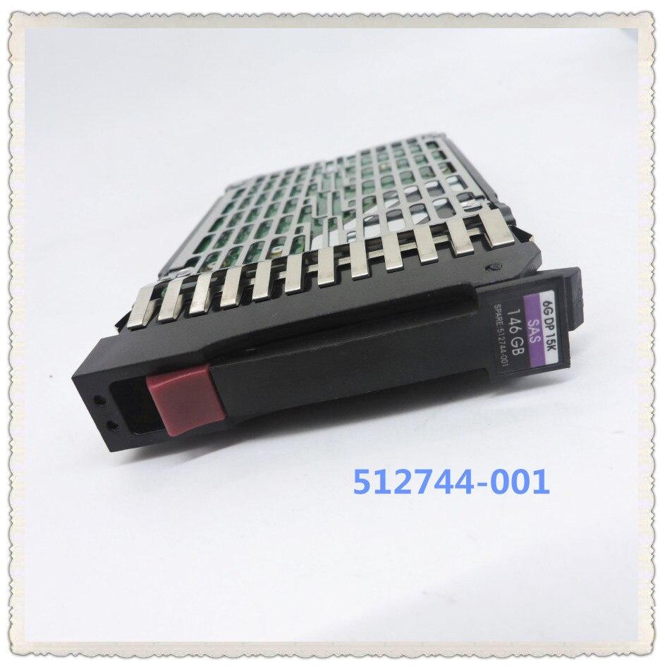100 New In box 3 year warranty 512544 004 512744 001 507129 010 146G 15K SAS