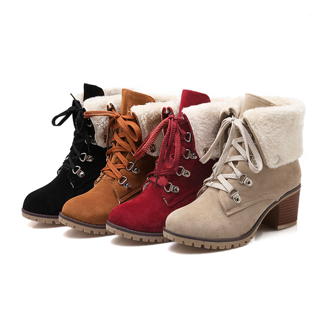 Women Winter Ankle Boots