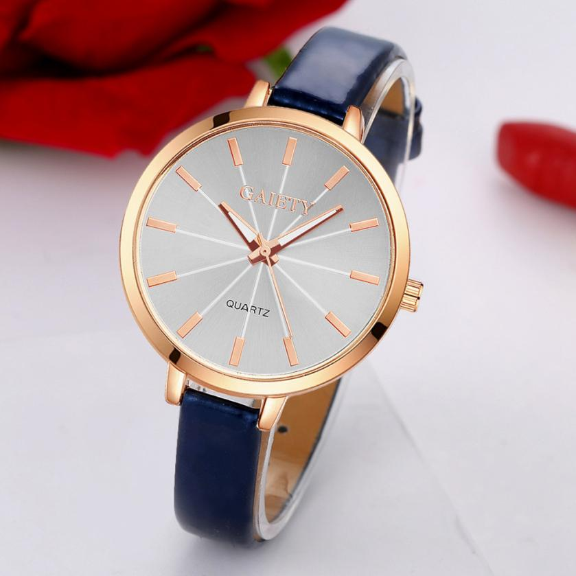 Women Watches Woman Quartz Dress Watches Ladies Bracelet Fashion Watch Delicate Leather Rhinestone Watches Delicate 4*