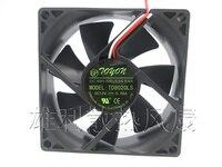 Бесплатная доставка. Новый оригинальный TD8020LS 12V 0.08A 8 см ультра-тихий диспенсер для воды с холодильником Вентилятор охлаждения