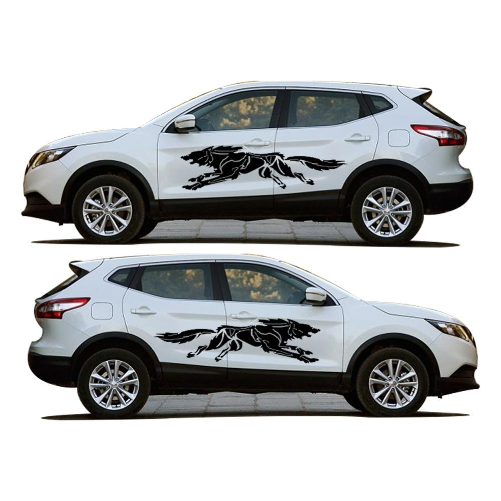 Novo za Nissan Qashqai stajling automobila zavijanje Wolf kreativne - Vanjska auto oprema - Foto 3