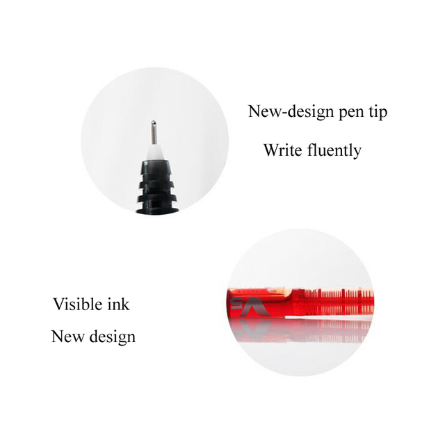 2pc Tattoo Accessories 0.5MM Surgical Skin Marker Pen Microblading Marker Pen for Eyebrow/Lip Beginner Permanent Makeup Supplies 1