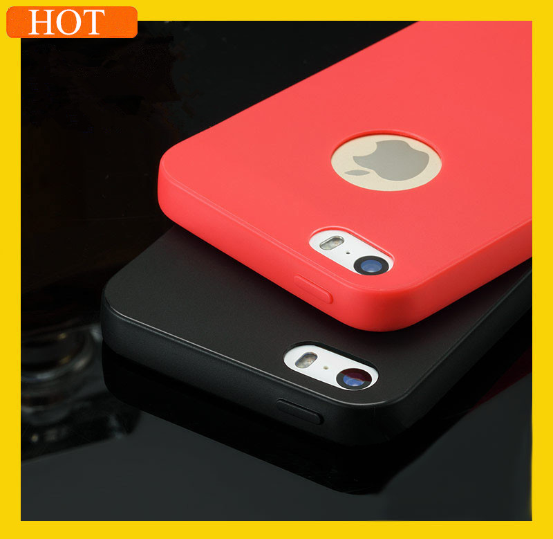 Case For Apple iPhone 5 5S Ultra Slim Candy Colors Soft