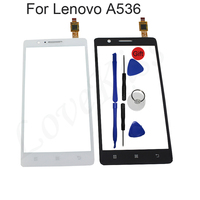 Original 5 0 A536 Touchscreen Front Glass For Lenovo A536 A358 A 536 Smartphone Touch Panel