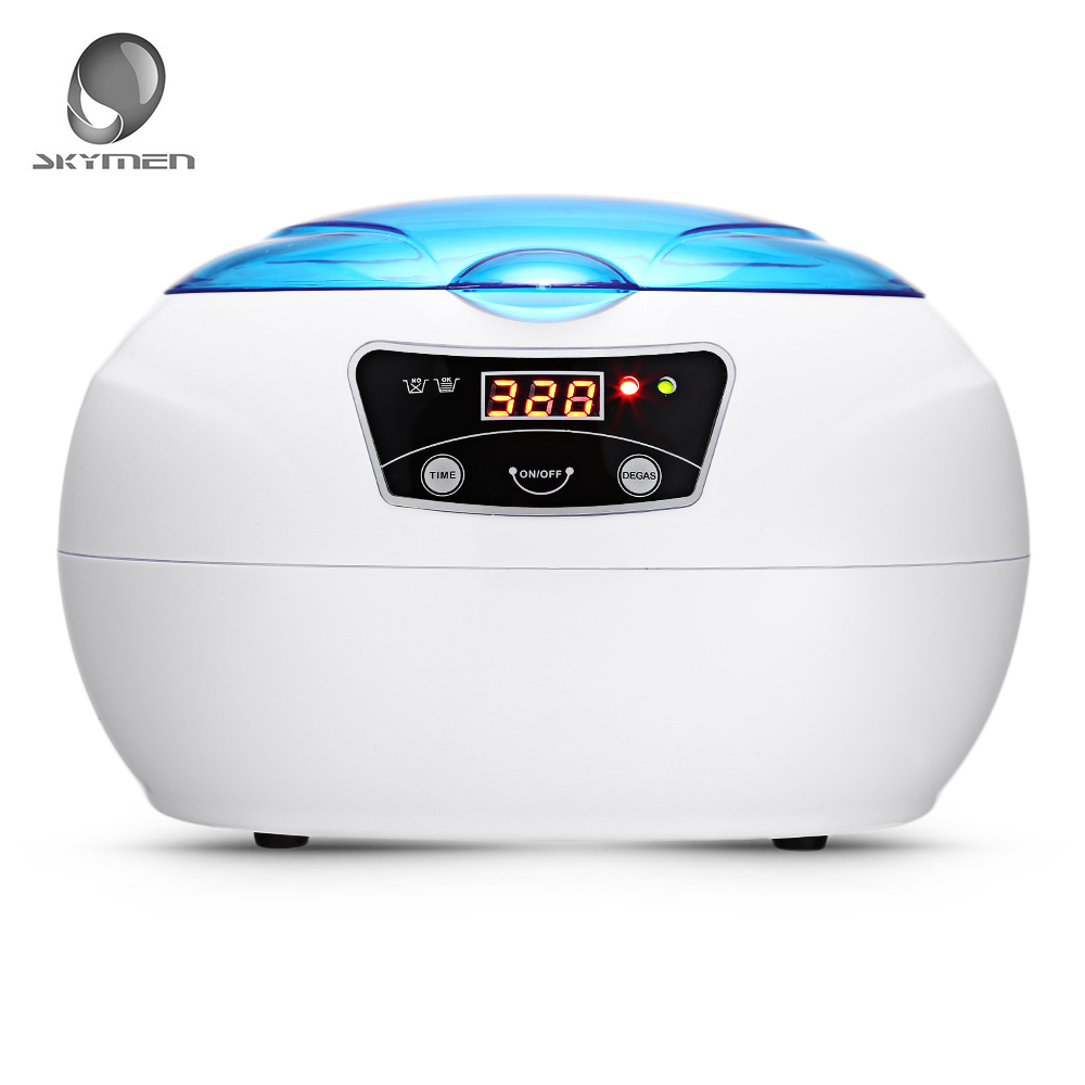 SKYMEN JP-890 600ML Ultrasonic Cleaners Cleaning Machine AC110 - 240V Professional Cleaner Jewelry Watches Washing Equipment household glasses jewelry ultrasonic cleaner ultrasonic cleaning machine equipment jp 3800s 600ml 50w