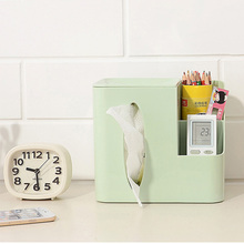 Multi-fuction Creative Tissue Box Plastic Toilet Seat Type Paper Canister Bathroom Living Room Napkin Holder Home Decorations