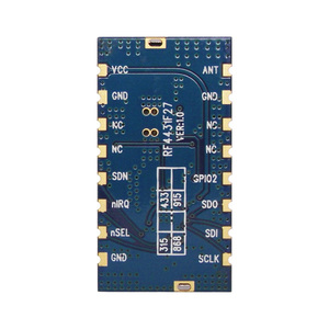 Image 4 - 2pcs/lot high performance 3km 868MHz 500mW embedded Wireless Transmitter Receiver RF Module FSK / GFSK Module RF4432F27