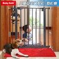 Babysafe ребенок ворота ребенка лестничные ограждения двери pet изоляции ворота забора собаки (75 ~ 219 см) добавить расширение