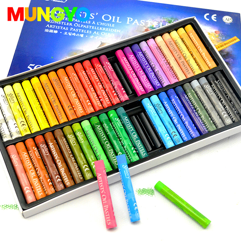MUNGYO MOPS 12/25/50 Colors Artists Oil Pastels Series Gallery Art Pastel  Drawing Supplies