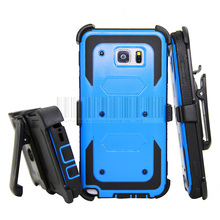 Heavy Dury Hybird Impact Shockproof Armor Stand Hard Case Cover+Holster With Belt Clip For Samsung Galaxy Note 5 N920
