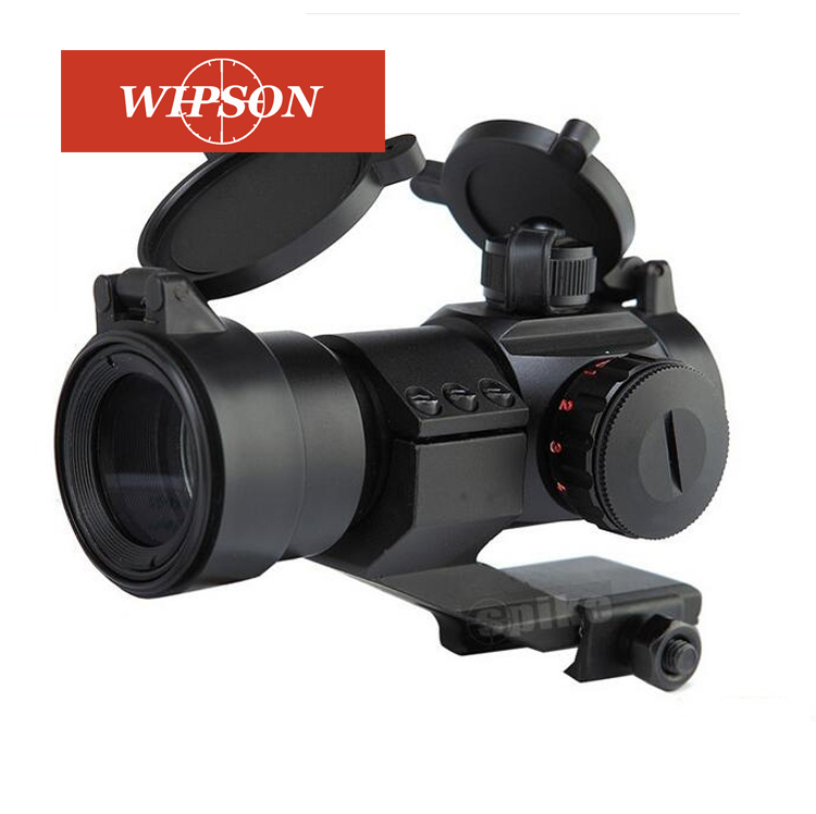 WIPSON Hot Sale Huntinting 1x30 Red And Green Dot Sight Optical Scope With 20mm Rails For Hunting Riflescope Free Shipping