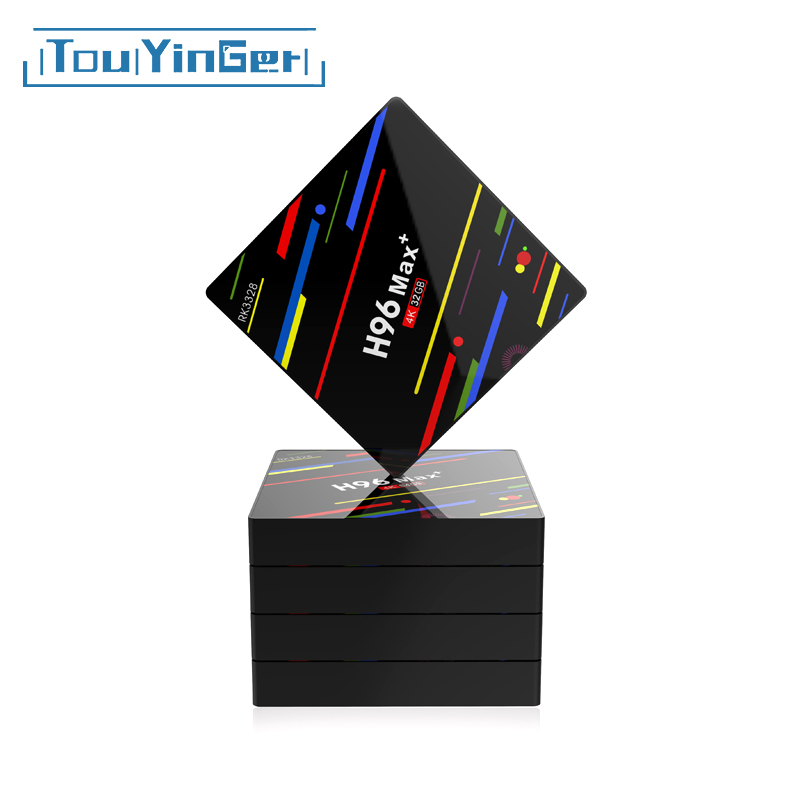 Touyinger Set-Top-Box Cortex-A53 Wifi Digital H96max Android RK3328 Quad-Core Support