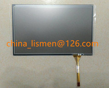 10 pieces Good quality 7 inch 4 pin 163*102mm 164*102mm Black glass touch Screen panel Digitizer Lens for car LCD DVD player