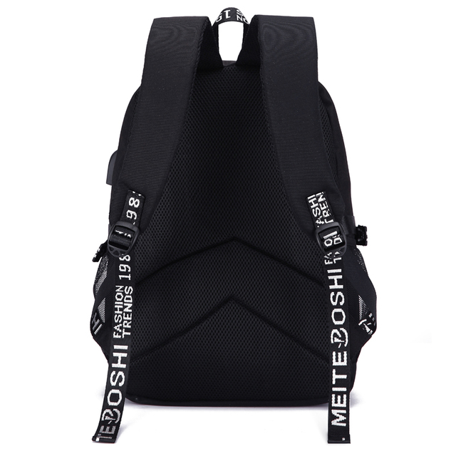 Digimon Biyomon Print Backpack with USB Charging Port