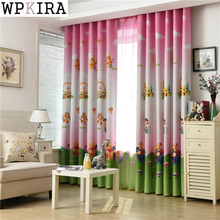 Cartoon Curtains Kids Finished Printed Curtain Tulle Curtain Children