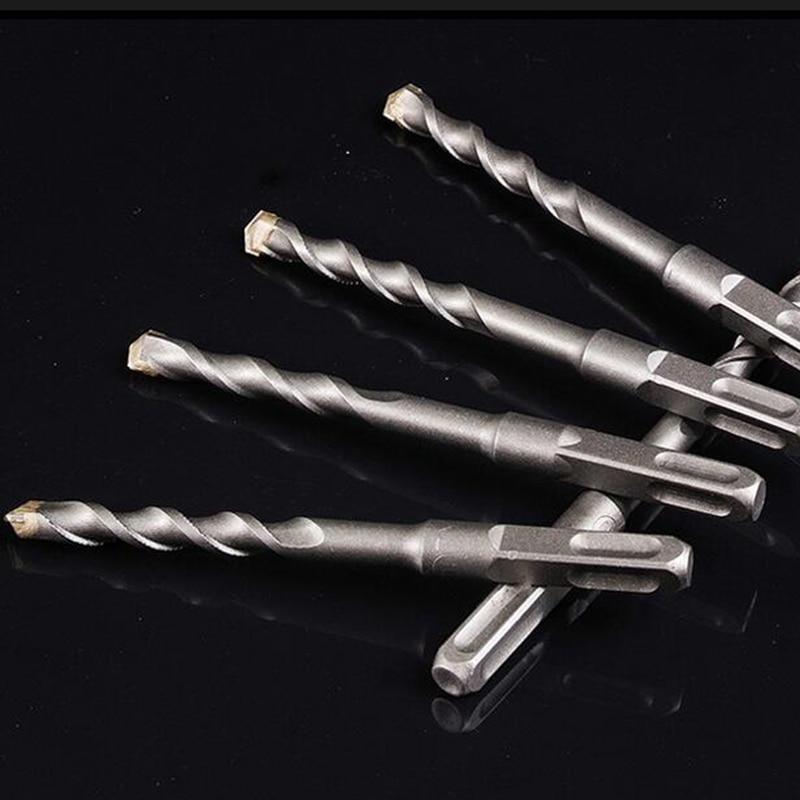 3 pezzi lunghi 150mm 6/8 / 10mm piastrelle trapano cemento cemento - Punta da trapano - Fotografia 3