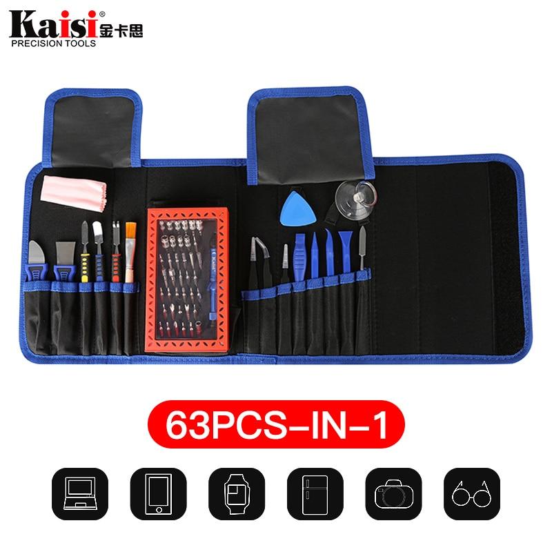 Handwerkzeuge Rational Kaisi 63 In 1 Magnetische Präzisions-elektronik-schraubenzieher-gesetztes Handwerkzeuge Für Telefon Repair Tool Kit GroßE Auswahl; Werkzeuge