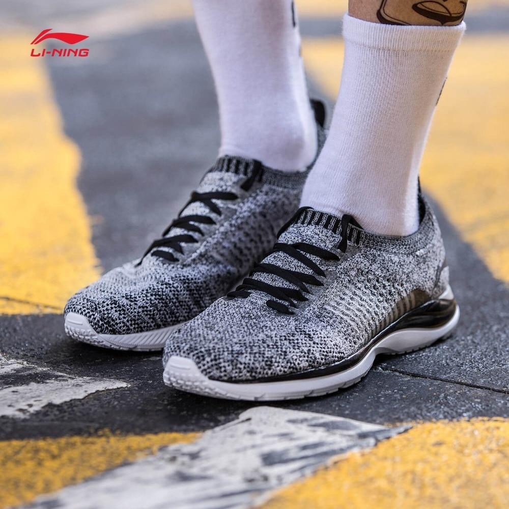 Li-ning hommes Super léger XV chaussures de course léger respirant baskets Mono fil doublure chaussures de Sport ARBN009 XYP652 - 3