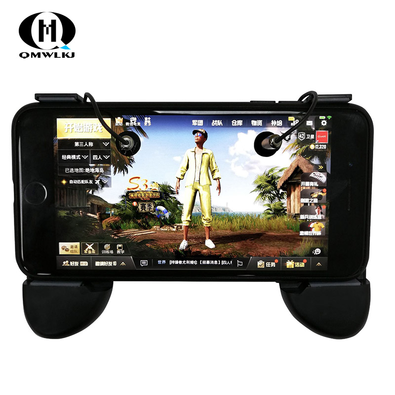 New R8 PUBG Mobile Game Controller Gamepad Trigger Aim Button L1 R1 Shooter Joystick For Iphone Android Smart Phone