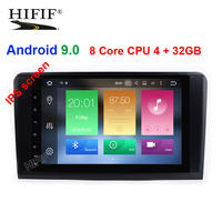 Android 9.0 4G 8 CORE car GPS For Mercedes Benz ML GL W164 ML350 ML500 GL320 radio stereo navigation NO DVD PLAYER