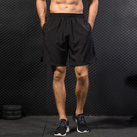 New 2018 Workout Shorts Men Football Basketball Shorts Inner Wear Summer Athletic Gym Fitness Sports Red