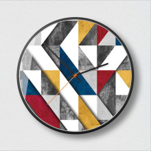 New Extremely Simple Color Series Fashion Clocks Modern Minimalist Clock Nordic Wall Design Large Size For Home