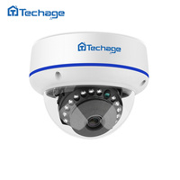Techage 1080 وعاء hd vandalproof مكافحة مخرب cctv قبة كاميرا ip كاميرا 2.0mp داخلي p2p onvif معدن حالة كشف الحركة