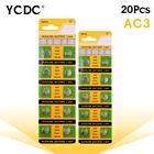 YCDC +High Power+Fast Selling+20x Alkaline Battery 1.55V G3 AG3 LR41 LR736 V3GA SR41 192 392 Button Cell Watch Coin Batteries