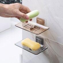 MeyJig мыльницы сливная губка держатель для ванной комнаты Органайзер настенный стеллаж для хранения мыльница кухонная подвесная полка