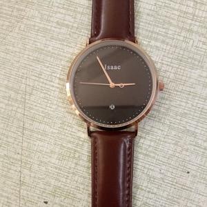 Image 5 - CL026  Black Rose Gold Build Brand Your Own Watch Custom Design OEM Logo Printed Watch Men Wrist Calendar Minimalist Watch