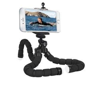 Image 1 - 電話ホルダー柔軟なタコ三脚、ブラケットスタンドマウントバイク自転車一脚ヘアスタイリングアクセサリー携帯電話カメラ