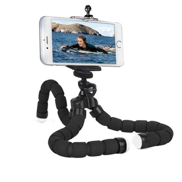 電話ホルダー柔軟なタコ三脚、ブラケットスタンドマウントバイク自転車一脚ヘアスタイリングアクセサリー携帯電話カメラ